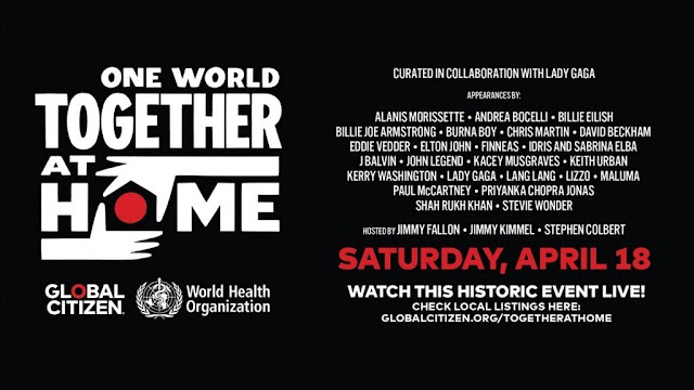 One World: Together At Home Live