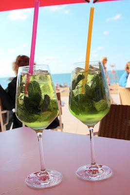 Mojito Basque, café de la Grande Plage, Biarritz