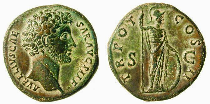 Sestercios romanos