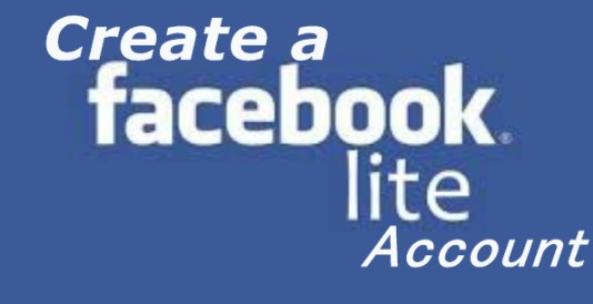 Facebook Lite Create New Account