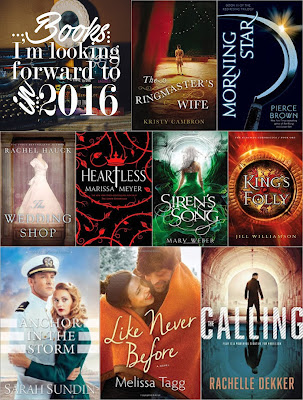 New Releases for 2016 - Books I'm Looking Forward To | Thinking Thoughts Blog