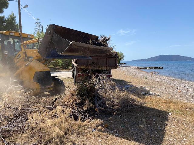 Καθαριότητα και φροντίδα σε όλες τις Τοπικές Κοινότητες του Δήμου Ναυπλιέων