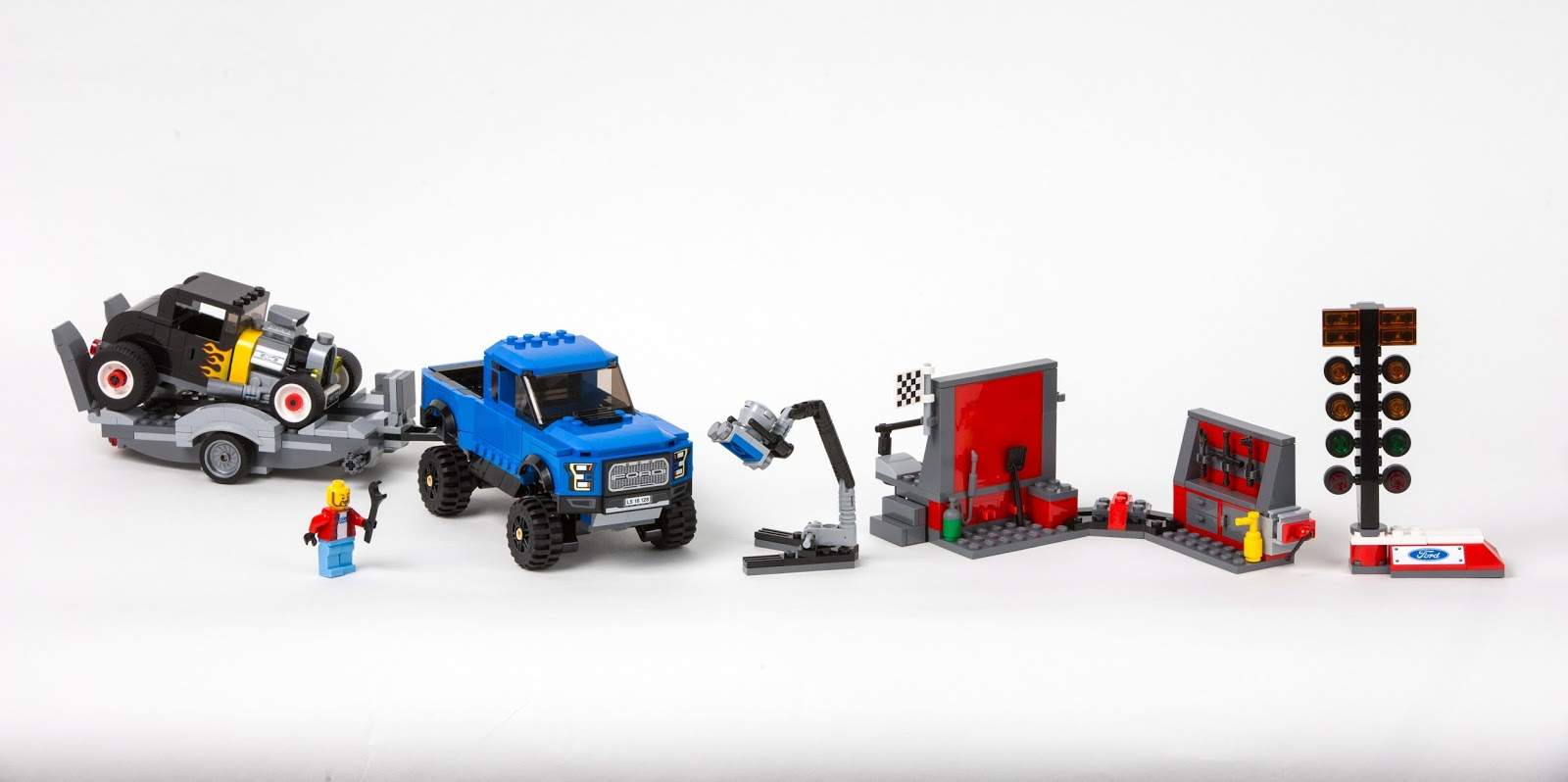LEGOF150RaptorSet Νέα LEGO Ford Mustang και F-150 Raptor και τα Παιδικά Όνειρα Γίνονται Πραγματικότητα