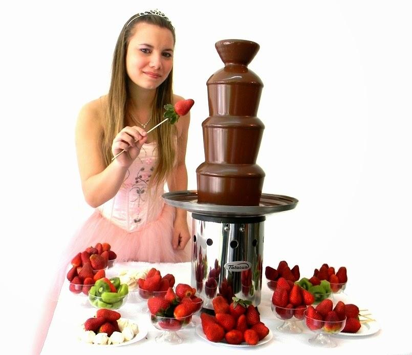 cascada de chocolate la nueva mesa dulce