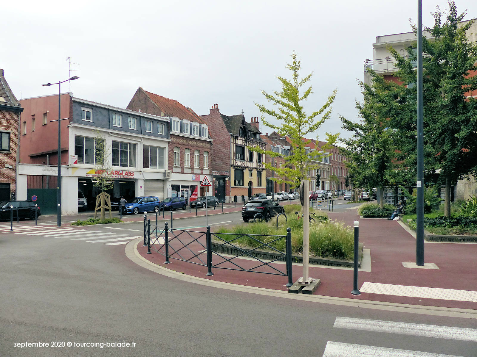 Angle Rue Nationale et Rue de Wailly, Tourcoing 2020