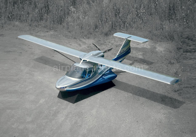 MVP Aero Model 3 amphibious light sport aircraft