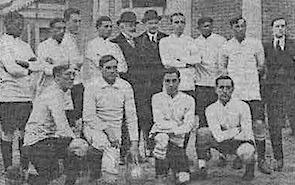 Formación de Uruguay ante Chile, Campeonato Sudamericano 1916, 2 de julio