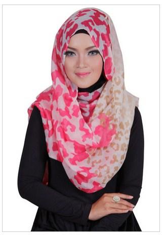Contoh Style Hijab Modern Dihari Lebaran