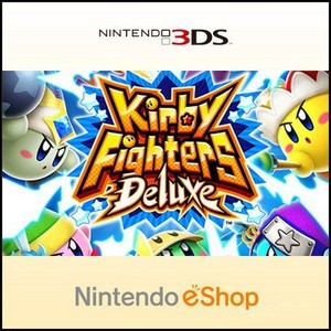 Rom Kirby Fighters Deluxe 3DS