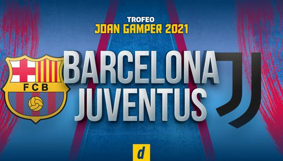 Barcelona vs Juventus EN VIVO: canales TV por Trofeo Joan Gamper