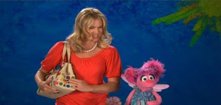 Rebecca Romijn and Abby Cadabby present the word Accessory. Sesame Street Best of Friends