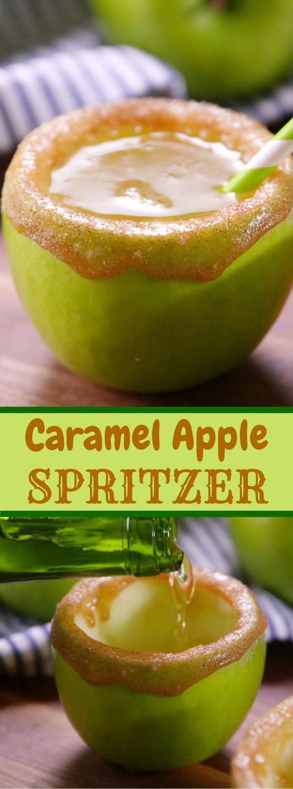 Caramel Apple Spritzers #bestcocktails #drink