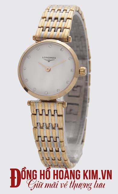 Đồng hồ nữ Longines dây Inox giá rẻ