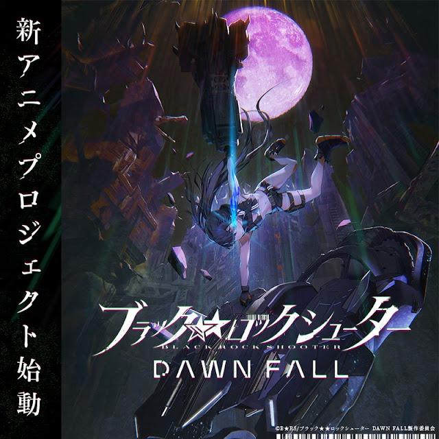 Anunciado el anime Black Rock Shooter: Dawn Fall