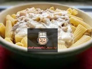 Pasta with roquefort sauce