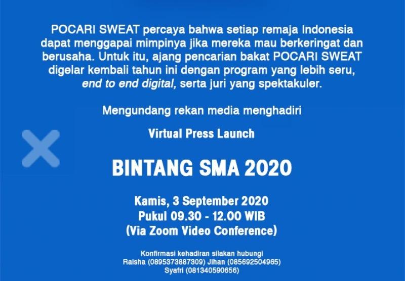 Pocari Sweat Bintang SMA 2020 Is Back