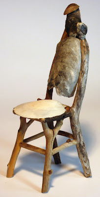 miniature rustic twig furniture by george c clark Rattan Twig Chairwith Seat Twig Art Sculptures