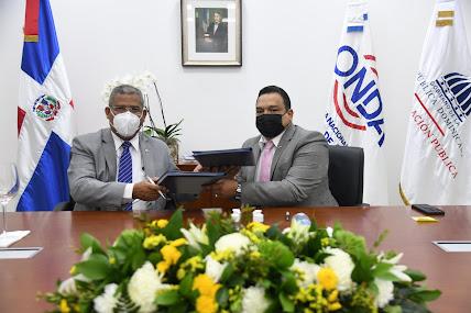 El MAP y ONDA firman convenio busca fortalecer  y mejorar servicios a la ciudadanía.