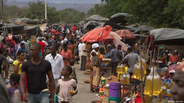 alunos quarentena mocambique