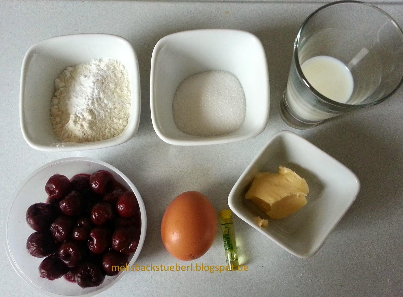 Melis Backstüberl: kleiner Herzkuchen