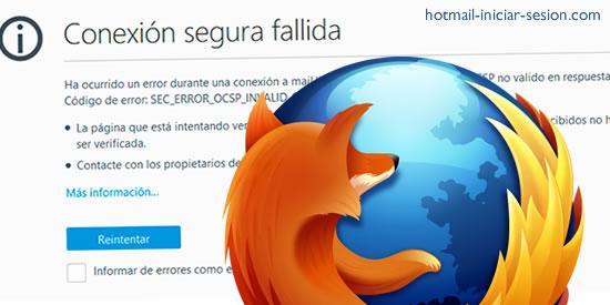 Hotmail que utilizan Mozilla Firefox