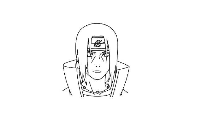 dibujos faciles de los personajes de la serie naruto