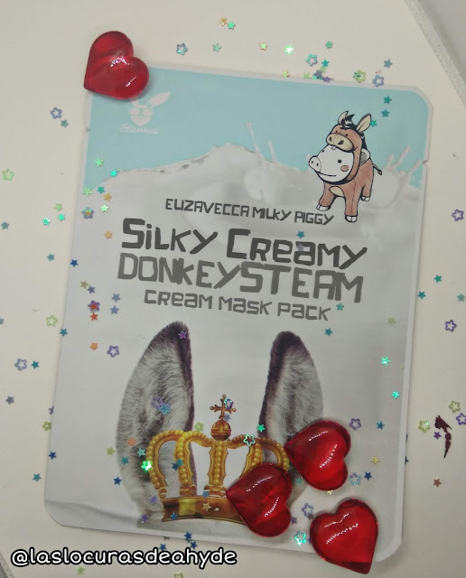 Silky Creamy Donkey Steam Cream Mask Pack