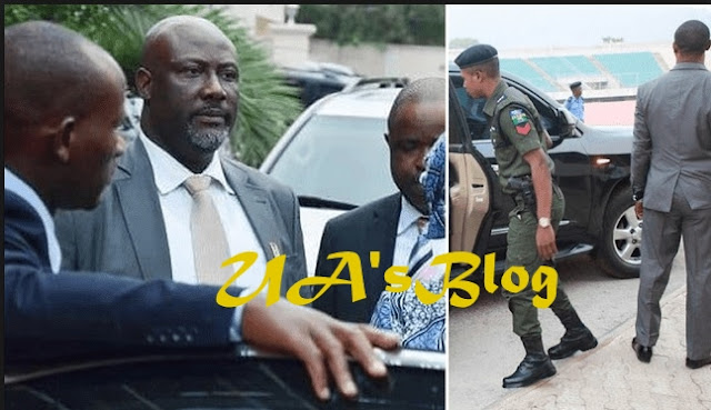 Police Break Into Melaye's House 'With Axe, Iron Cutter Machines'