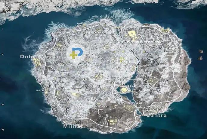 خريطة فيكندي Vikendi