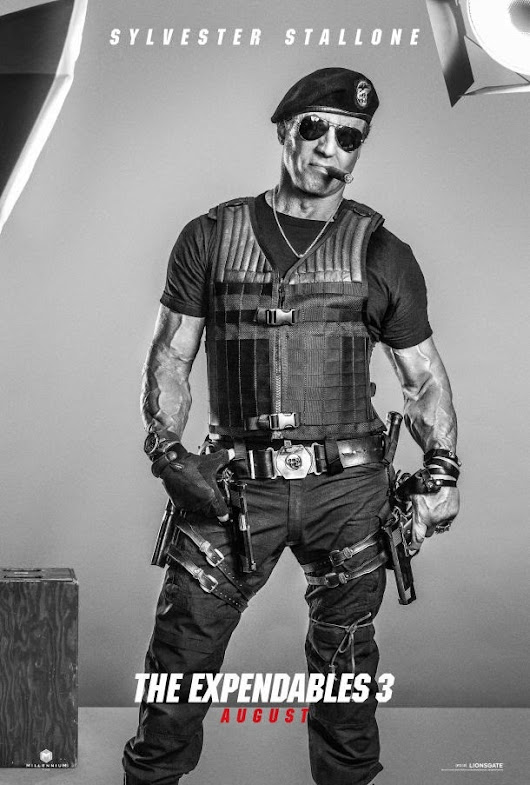 Expendables 3 2nd Teaser Trailer and 16 Character Photos