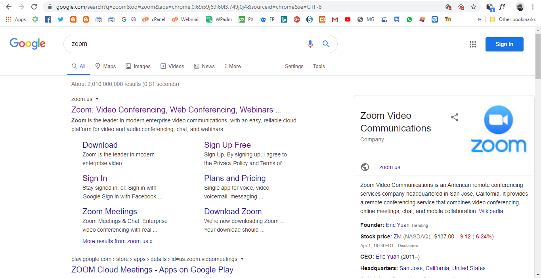 Cara Install Zoom Meeting di Browser Sebagai Host (Admin Meeting)