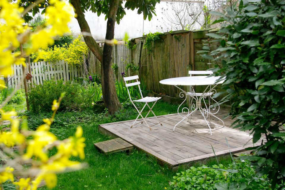 Donne Palette Bois En Tres Bon Etat - Spice Rabbits Notre terrasse en palettes un an plus tard