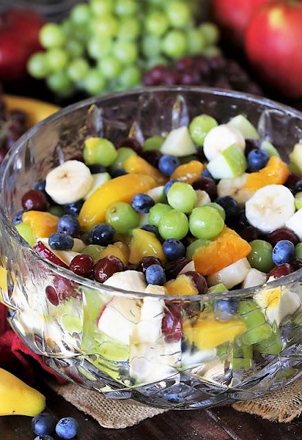 Peach Pie Filling Fruit Salad Image