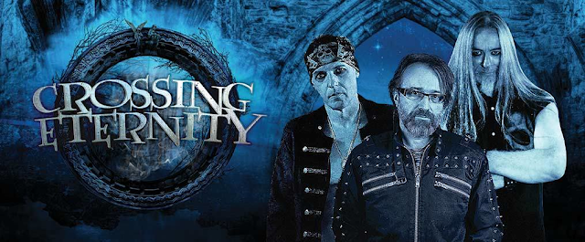 Crossing Eternity: Power Trio lançará debut 'The Rising World' via Rockshots Records