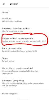 Cara Menonaktifkan Update Otomatis Google Play Store