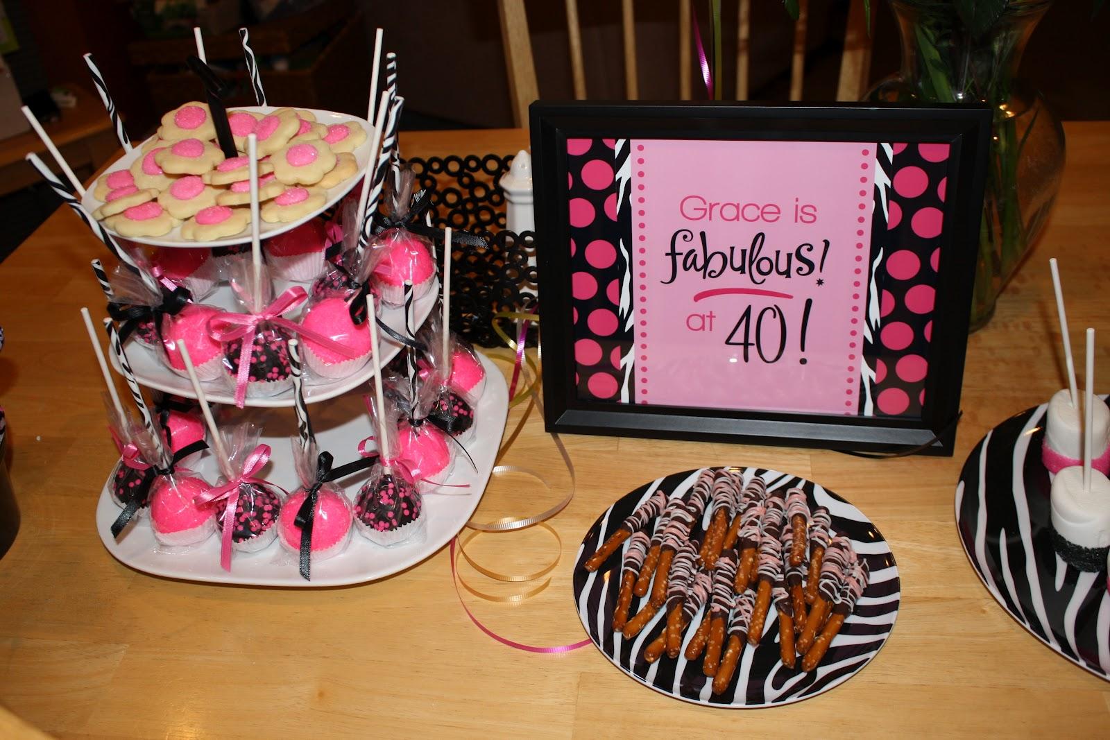 Krinkledkrafts 40th Birthday Party