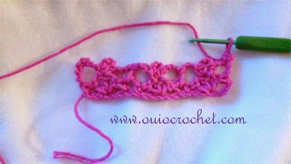Oui Crochet: Open Shell and Picot Stitch {Crochet Stitch Tutorial}