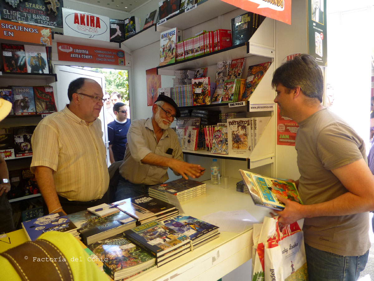Factoría Del Cómic Jan En La Feria Del Libro De Madrid