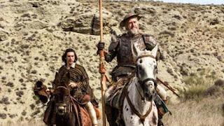Fotograma sobre El hombre que mató a Don Quijote
