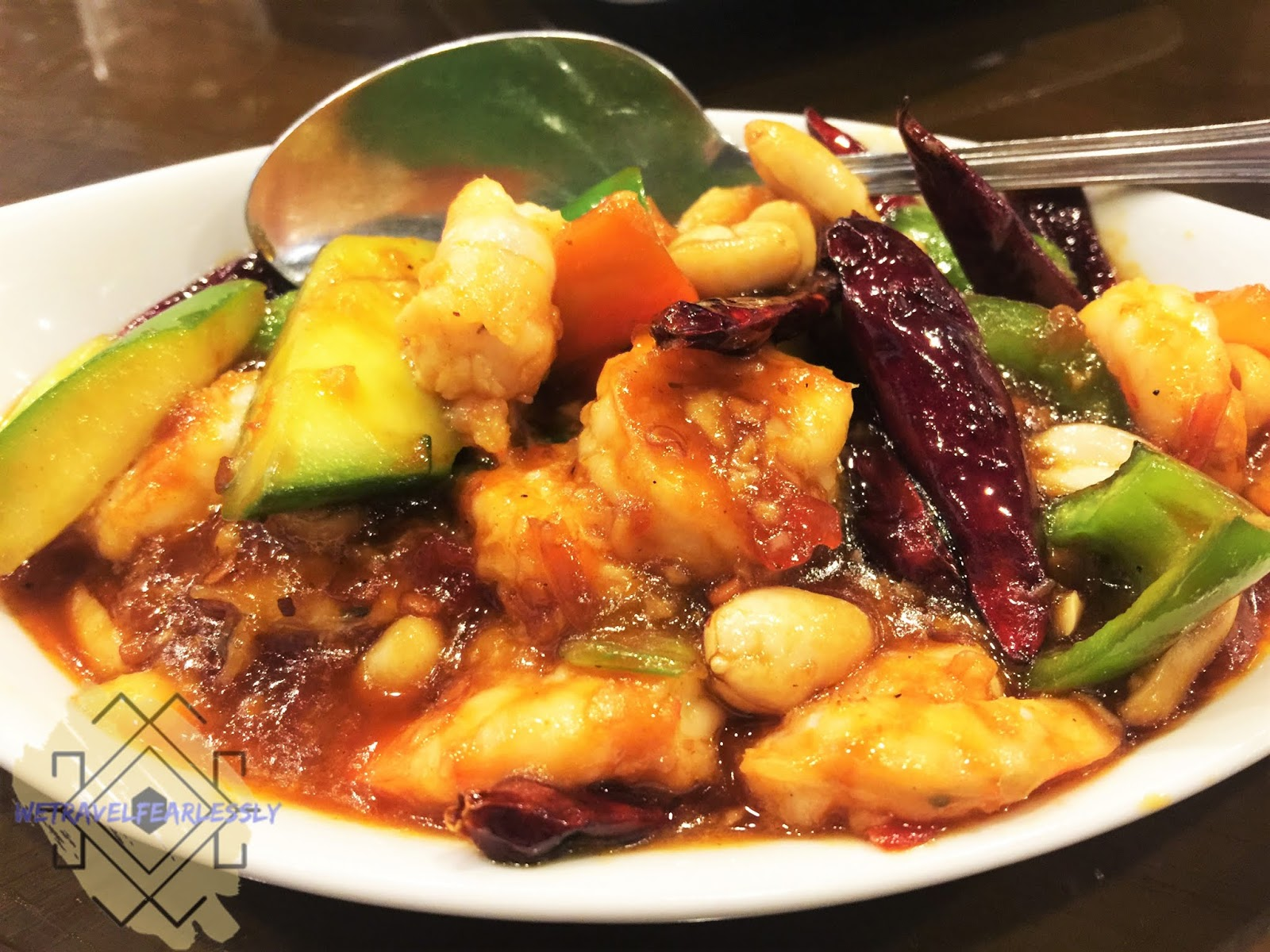 Kung Pao Shrimp (PHP219) - Tien Ma's Taiwanese Cuisine in Libis, Quezon City - WTF Review