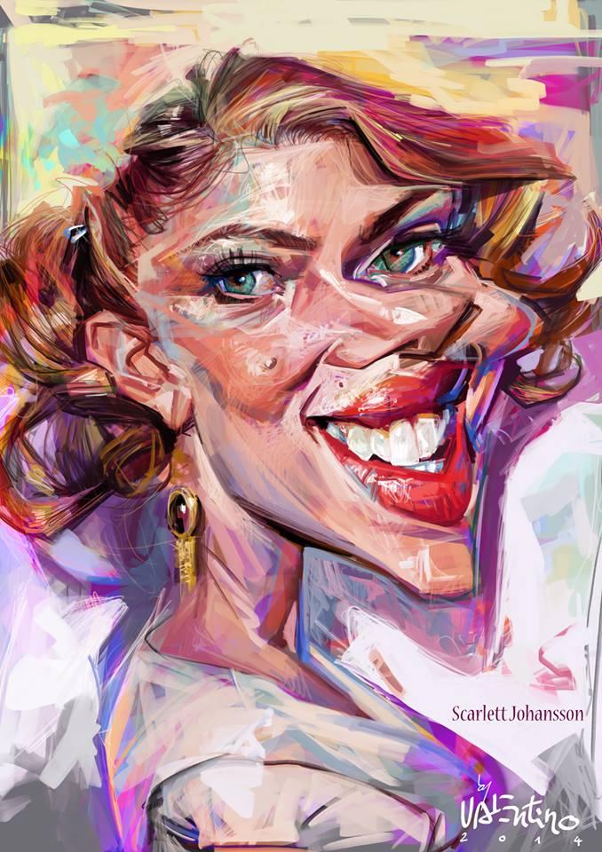 Scarlett Johansson por Valentin Chibrit