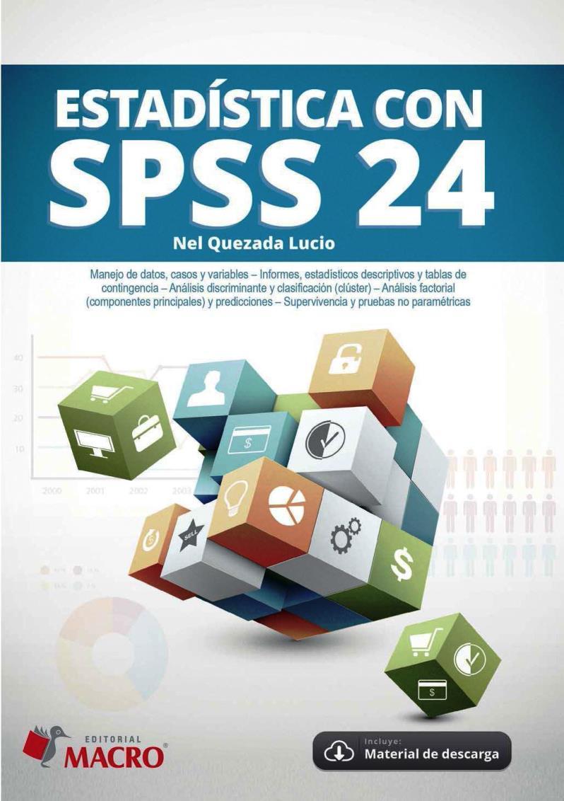 Estadística con SPSS 24 – Nel Quezada Lucio
