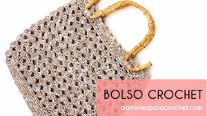 Patrones de Bolso Crochet 👜