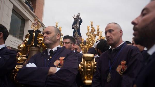 La cofradía de El Rico espera poder liberar al preso el Miércoles Santo en la iglesia de Santiago de Málaga