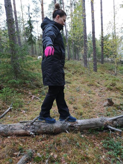 Minä metsässä