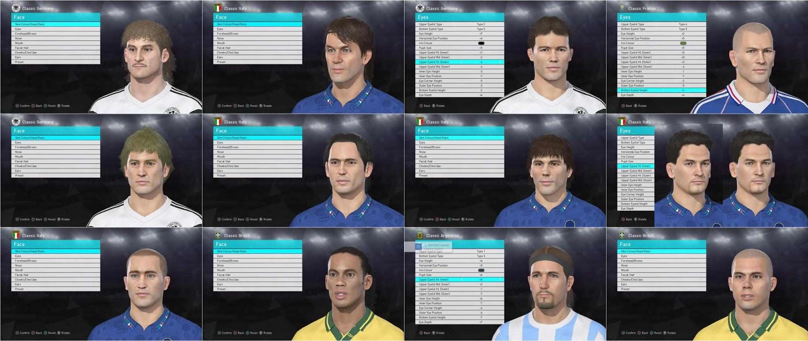 ultigamerz: PES 2018 [PC/PS4] Classic Teams Patch