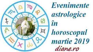 Astrologie horoscop martie 2019