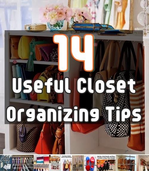14 Useful Closet Organizing Tips