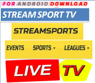 Download StreamSportsTV Update Watch Free Live Sports on Android,PC or Other Device Through Web Browser.  Watch Live Premium Cable World Sports On Android or PC Through Browser