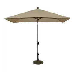 Blue Wave Adriatic Rectangular Market Umbrella